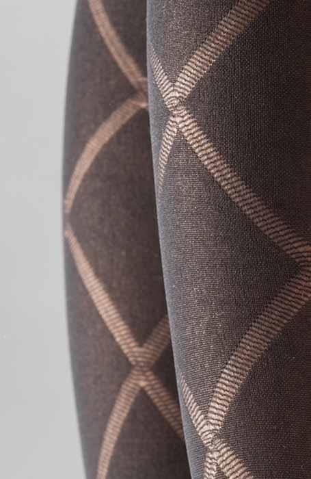 Granada 60DEN černé punčocháče se vzorem kára