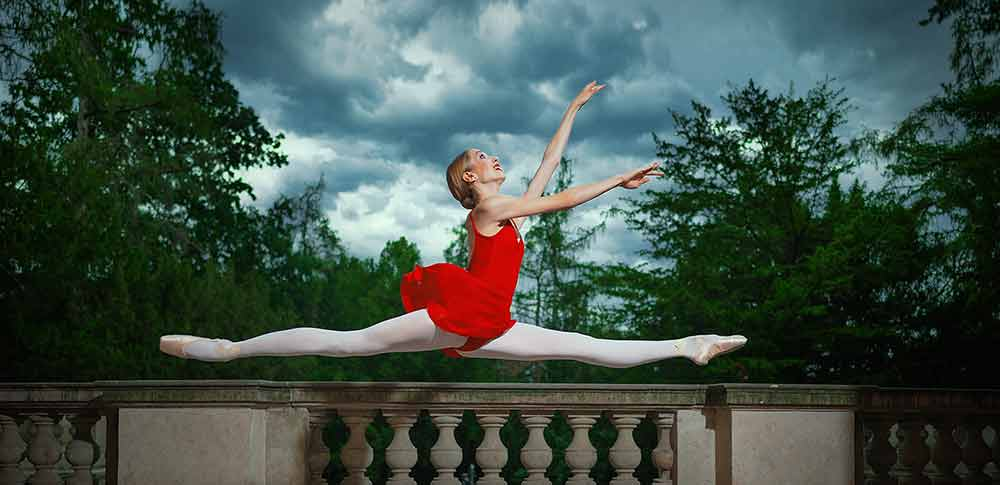 Taneční punčocháče nejen na balet