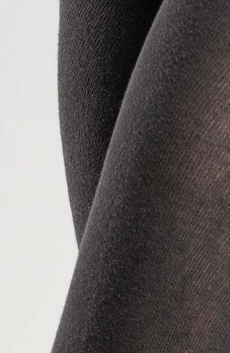 Černé zimní punčocháče 200 DEN Montana