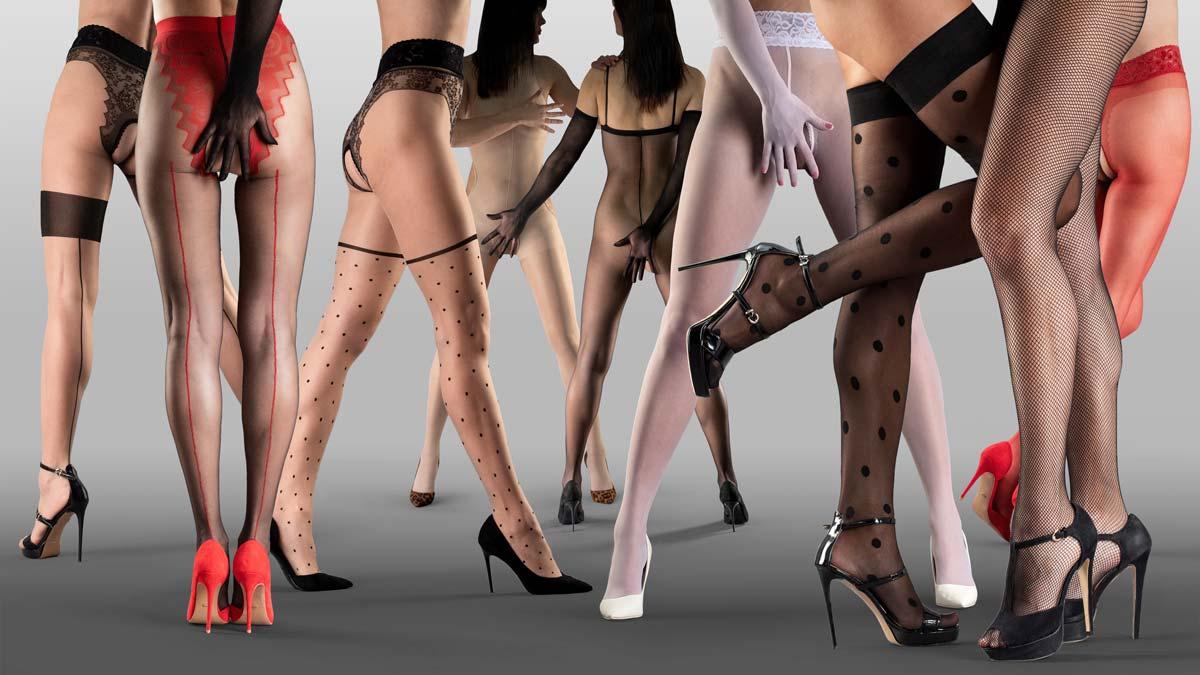 Erotické silonky na sex punčocháče punčochy sex otevřený rozkrok Collanteria